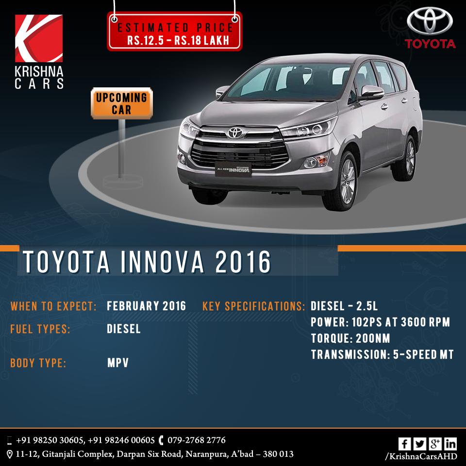 New Toyota Innova  #Toyota #Innova #ToyotaInnova #usedToyota #usedInnova #usedToyotaInnova #Car #CarDealer #UsedCarDealer #PreOwnedCar #KrishnaCars