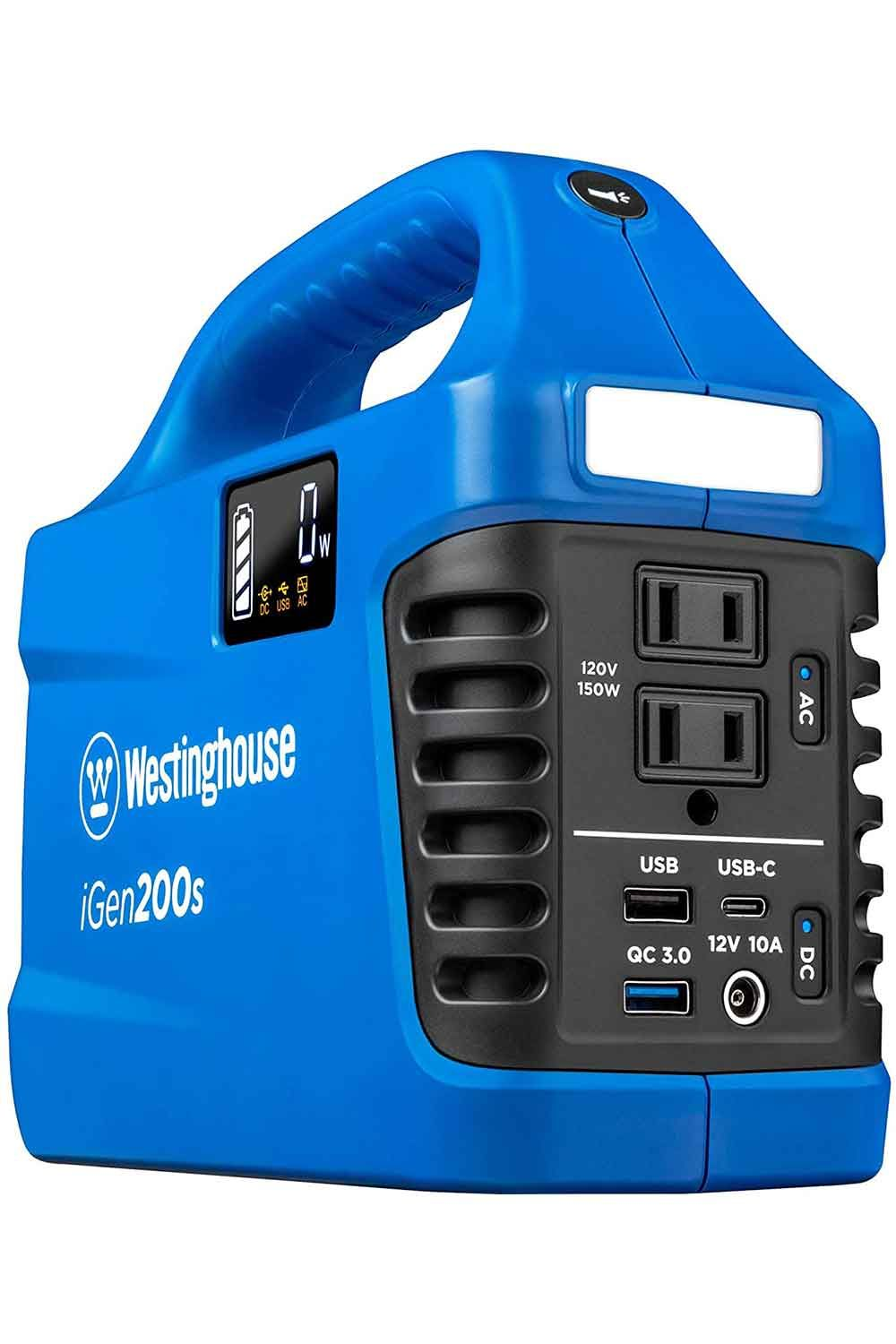 Price 178 64 Top Westinghouse Outdoor Power Equipment Igen200s Portable In 2021 Power Station Outdoor Geek Solar Battery