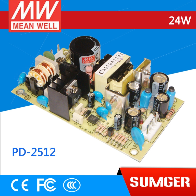 191 53 Watch More Here Freeshiping 12pcs Mean Well Original Pd 2512 Meanwell Pd 25 24w Dual Output Switching Power Supply