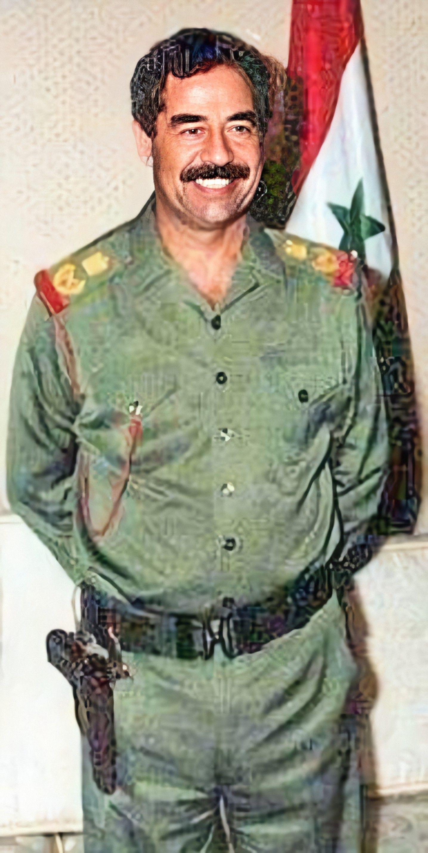 Pin By روائع الصور On صور صدام حسين عالية الوضوح Iraqi President Saddam Hussein World Leaders