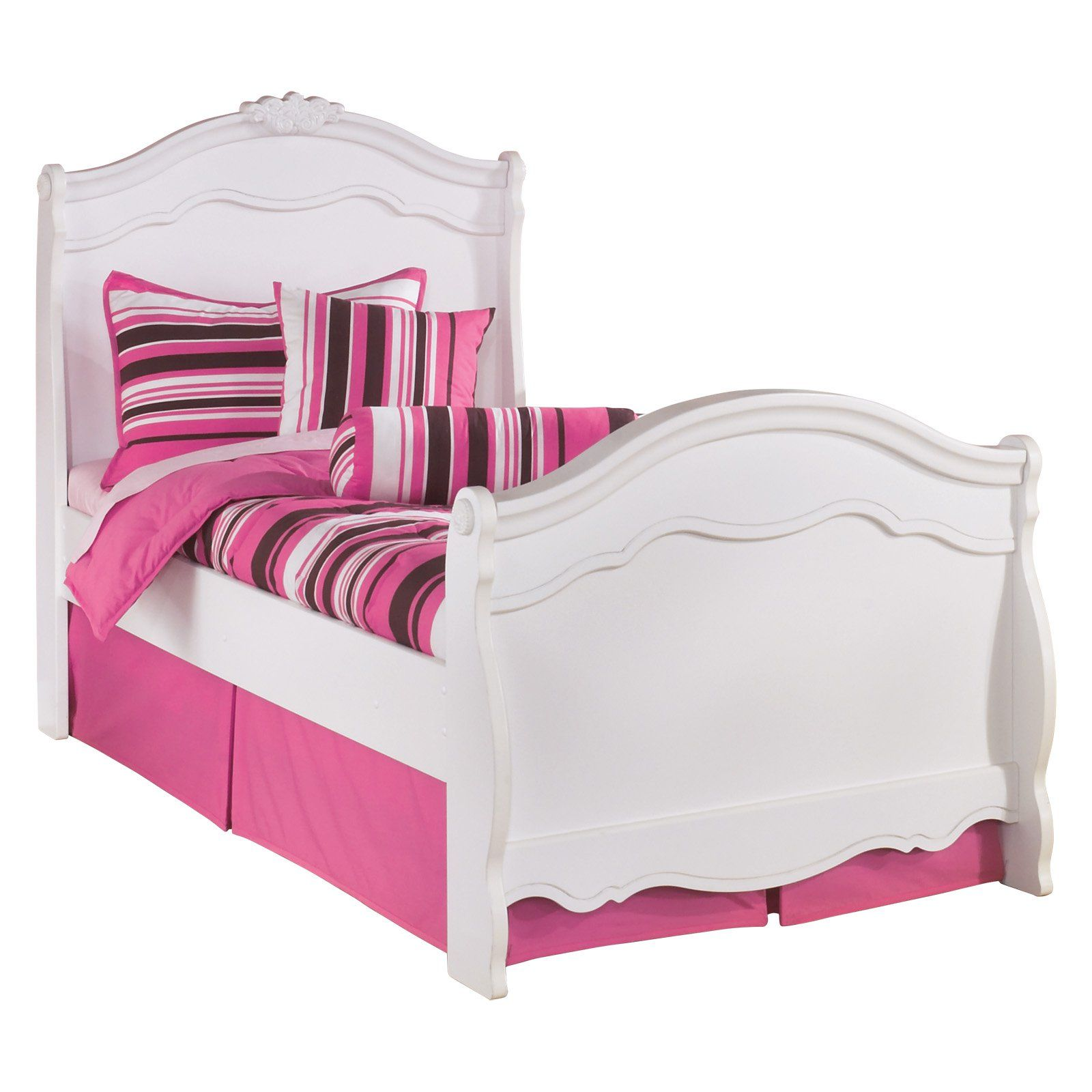 Best Signature Design By Ashley Exquisite Youth Sleigh Bed 640 x 480