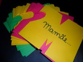 Pedagógiccos: Cartão para a Mamãe com passo a passo