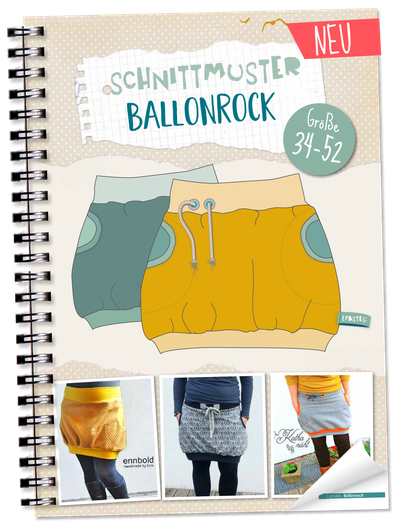 NEU: Lybstes Ballonrock Schnittmuster, E-Book Gr. 34-52   Nähen drum ...