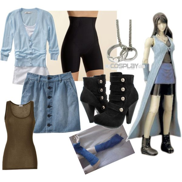Rinoa by catloverd on Polyvore featuring Old Navy, American Vintage, Debenhams, final fantasy and rinoa