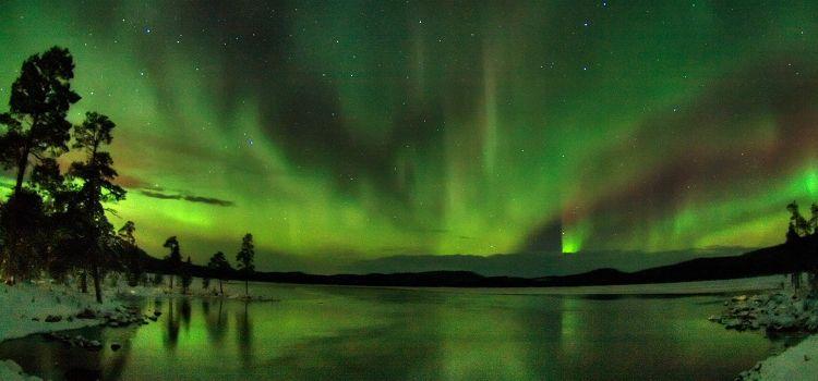 viaje laponia semana santa aurora boreal