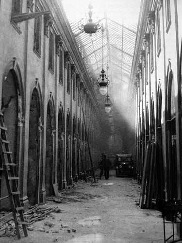 Galleria De Cristoforis - la demolizione 1935-36 | da Milàn l'era inscì