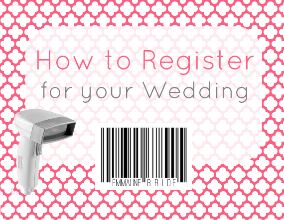How To Register For Your Wedding (+ FREE Printable!)