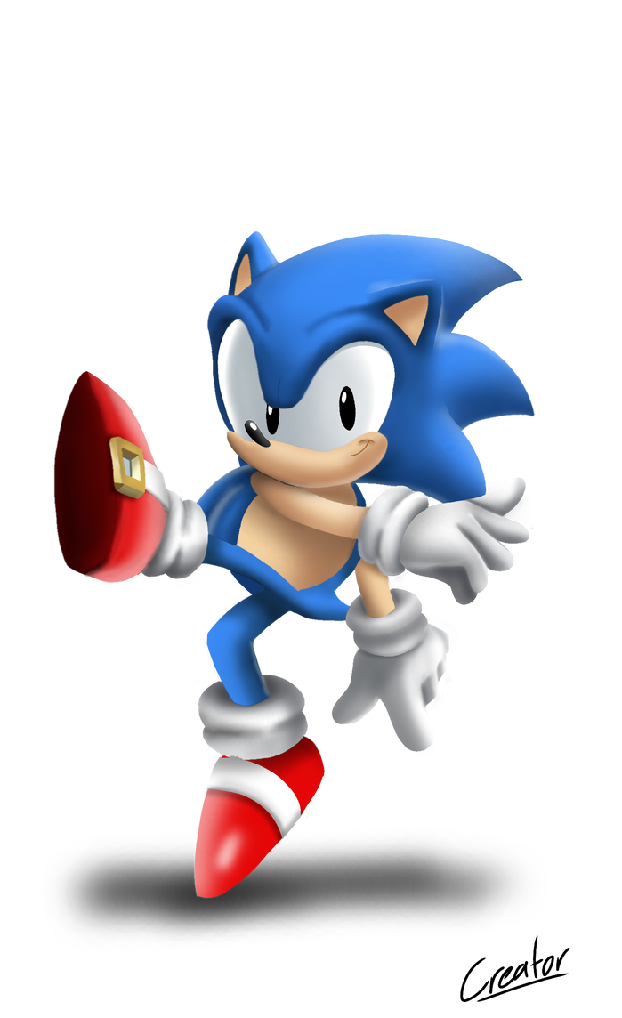Pin By Deek0s Store On Sonic The Hedgehog Classic Sonic