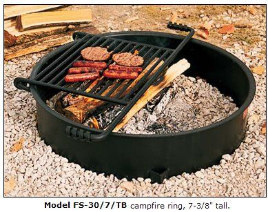 Pin By Jay Mock On Commercial Park Bbq Grills Campfire Ring Fire Ring Fire Pit