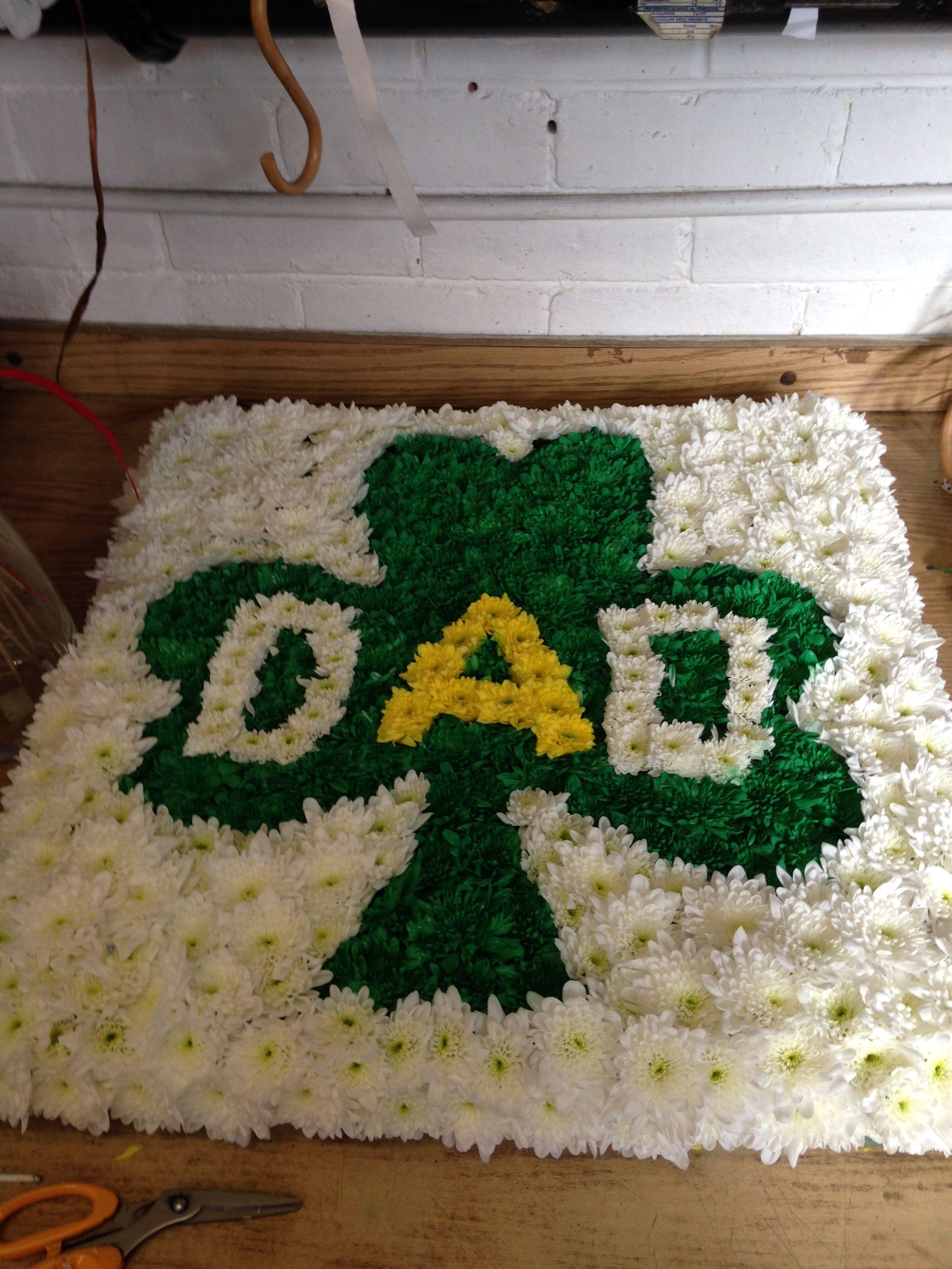 Dad irish shamrock funeral based designer board floral pinterest dad irish shamrock funeral based designer board izmirmasajfo
