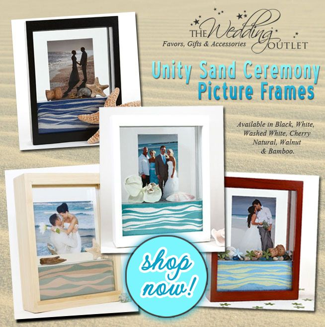 Unity Sand Ceremony Picture Frames ~unique alternative. ~Angel ~For ...