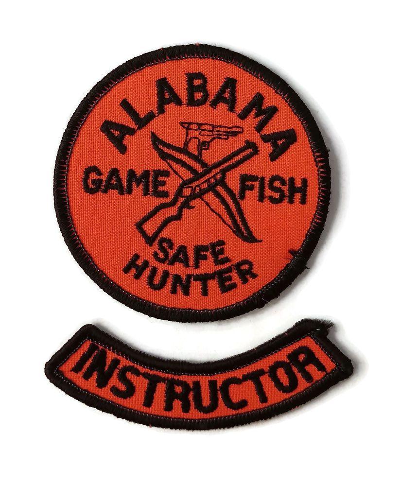 Alabama Safe Hunter Safety Education INSTRUCTOR Patch