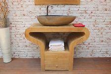 Waschtisch Unterschrank Holz Massiv Bad Waschbeckenschrank