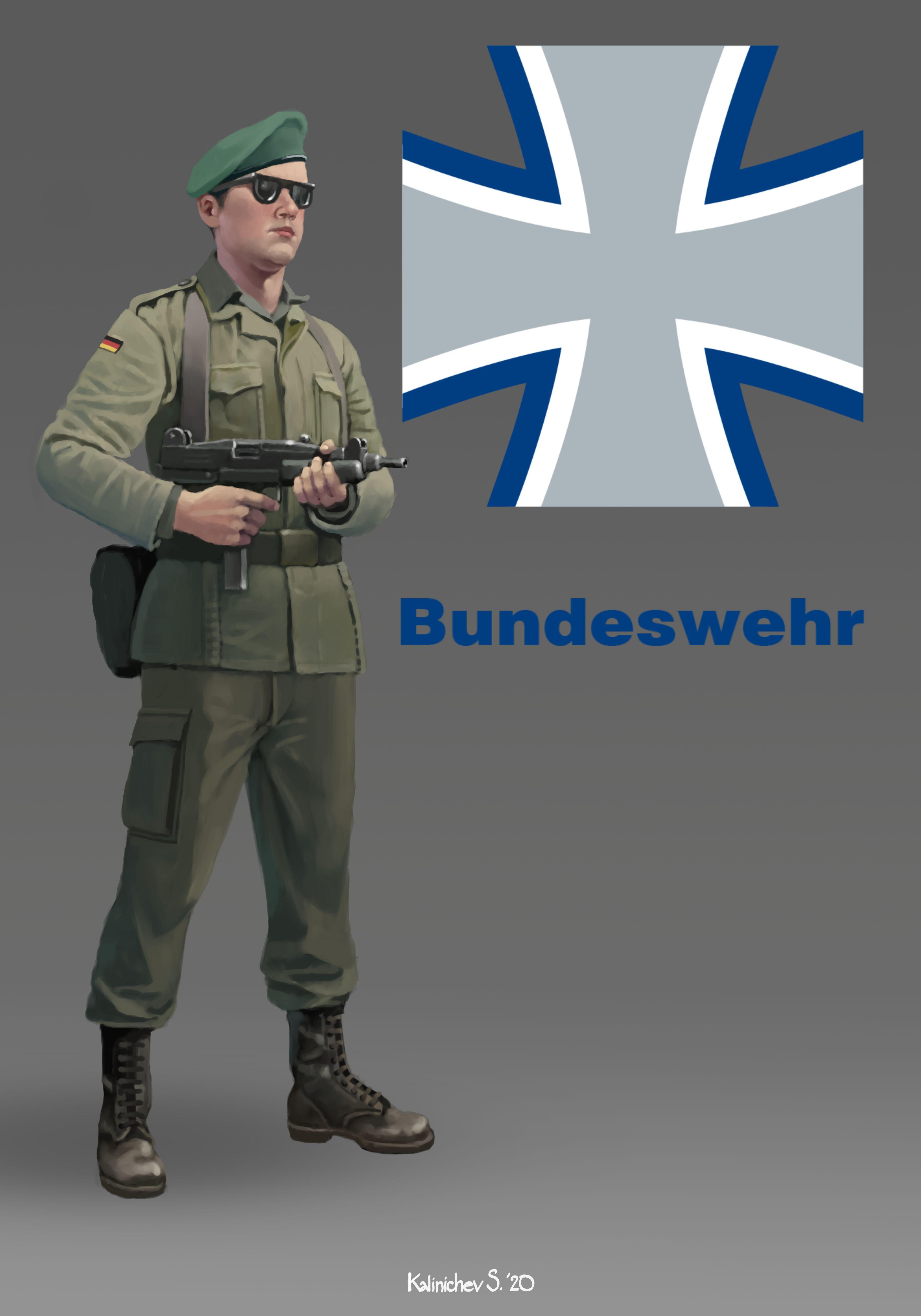 Bundeswehr в 2020 г