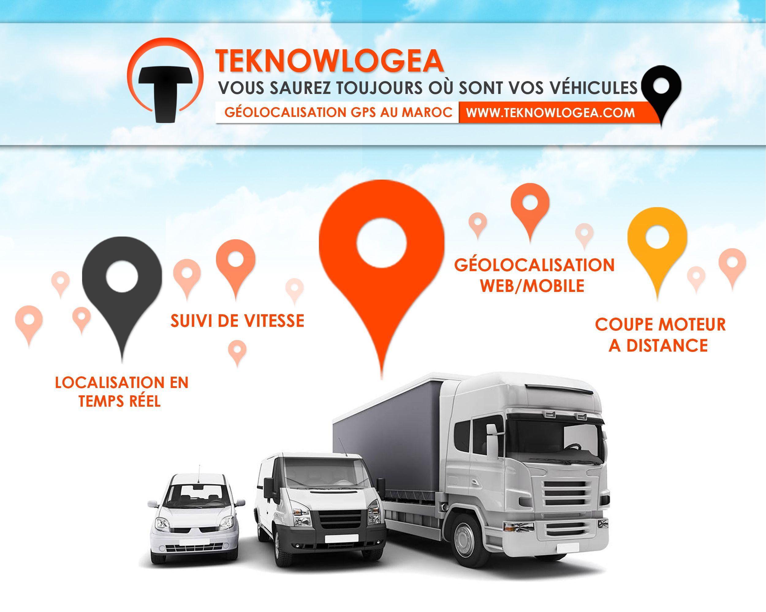 Solution de géolocalisation des véhicules (voiture, camion