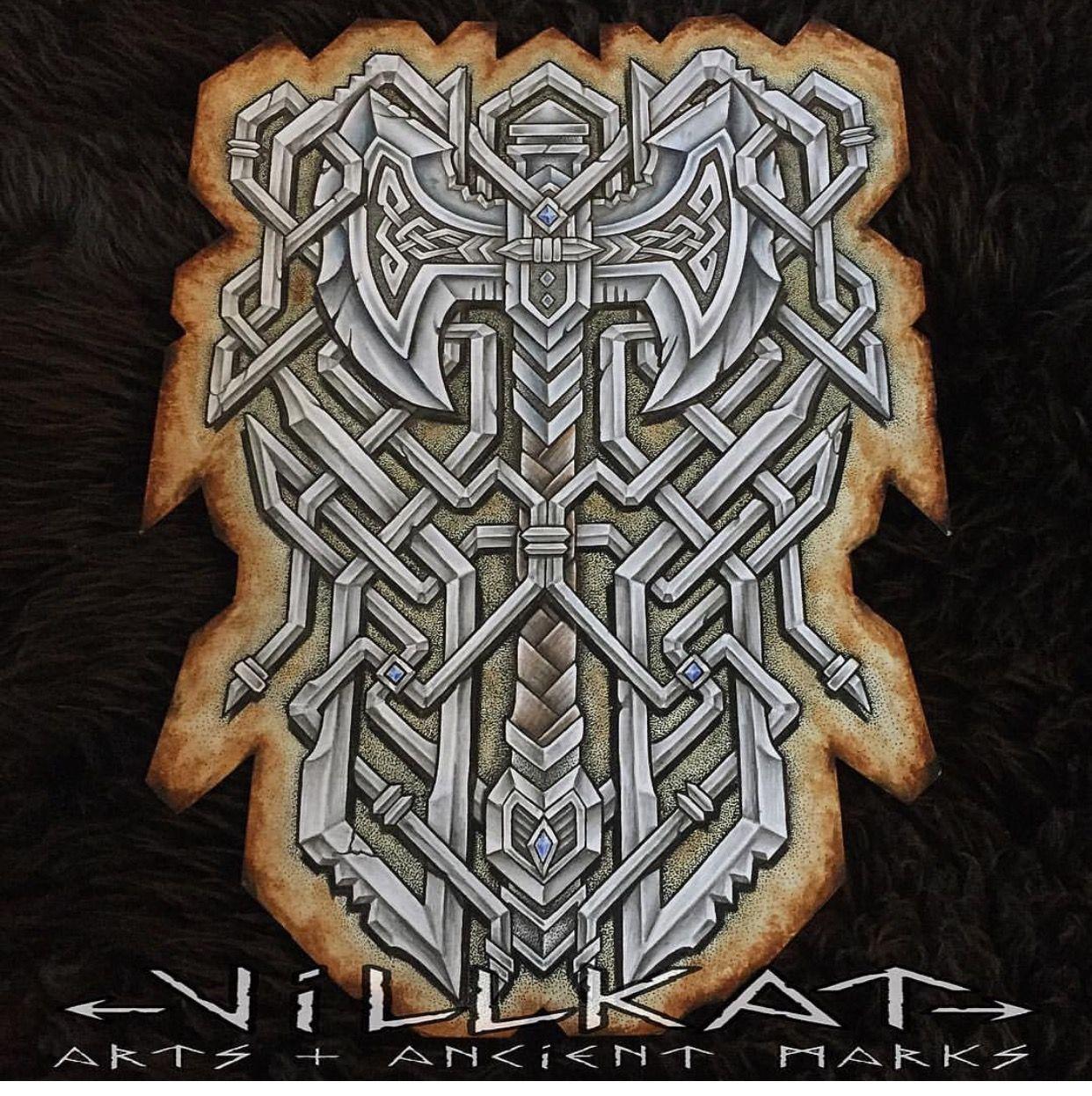 pingl par patrick lain sur sirmorgan pinterest viking tattoos tattoos et norse tattoo. Black Bedroom Furniture Sets. Home Design Ideas