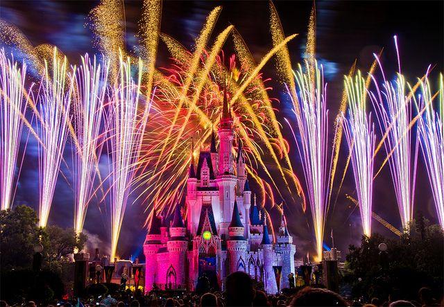 Magic Kingdom - Wishes!   Disney Parks   Disney world trip