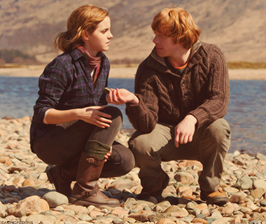 Melhor casals2 #casal #rony #hermione #romione #hp #harrypotter ...