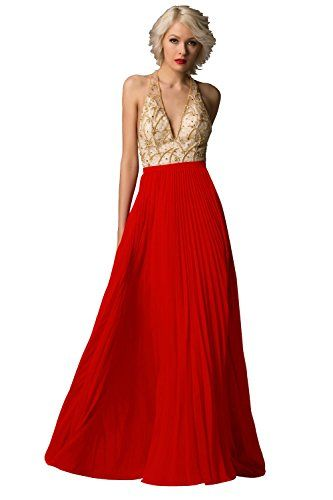 Dora Bridal Women´s V-Neck Chiffon Prom Party Formal Evening Gowns Size 2 US Red Dora Bridal http://www.amazon.com/dp/B015F4Q0HC/ref=cm_sw_r_pi_dp_fKzlwb1DQNAX9