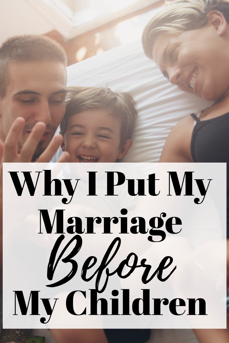 How to put your marriage first | Putting your relationship