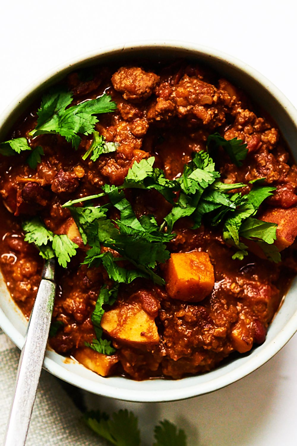 Beef and Bean Chili with an Unsuspecting Secret Ingredient