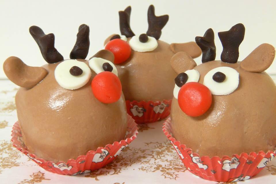Rudolf csokoládé mousse golyó