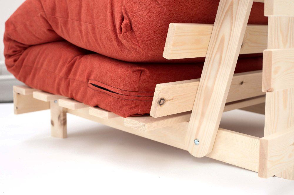 Senjo Futon Chair Bed Choice Of Fabric Colours With Uk Delivery The Senjo Futon Sofa Bed