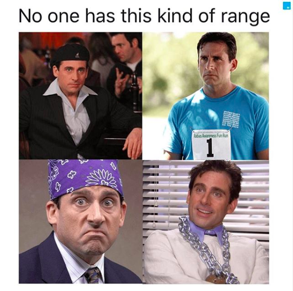 I Don T Know Who Needs To Hear This But The Range Meme Has The Range In 2020 Memes Michael Scott Perfect Image