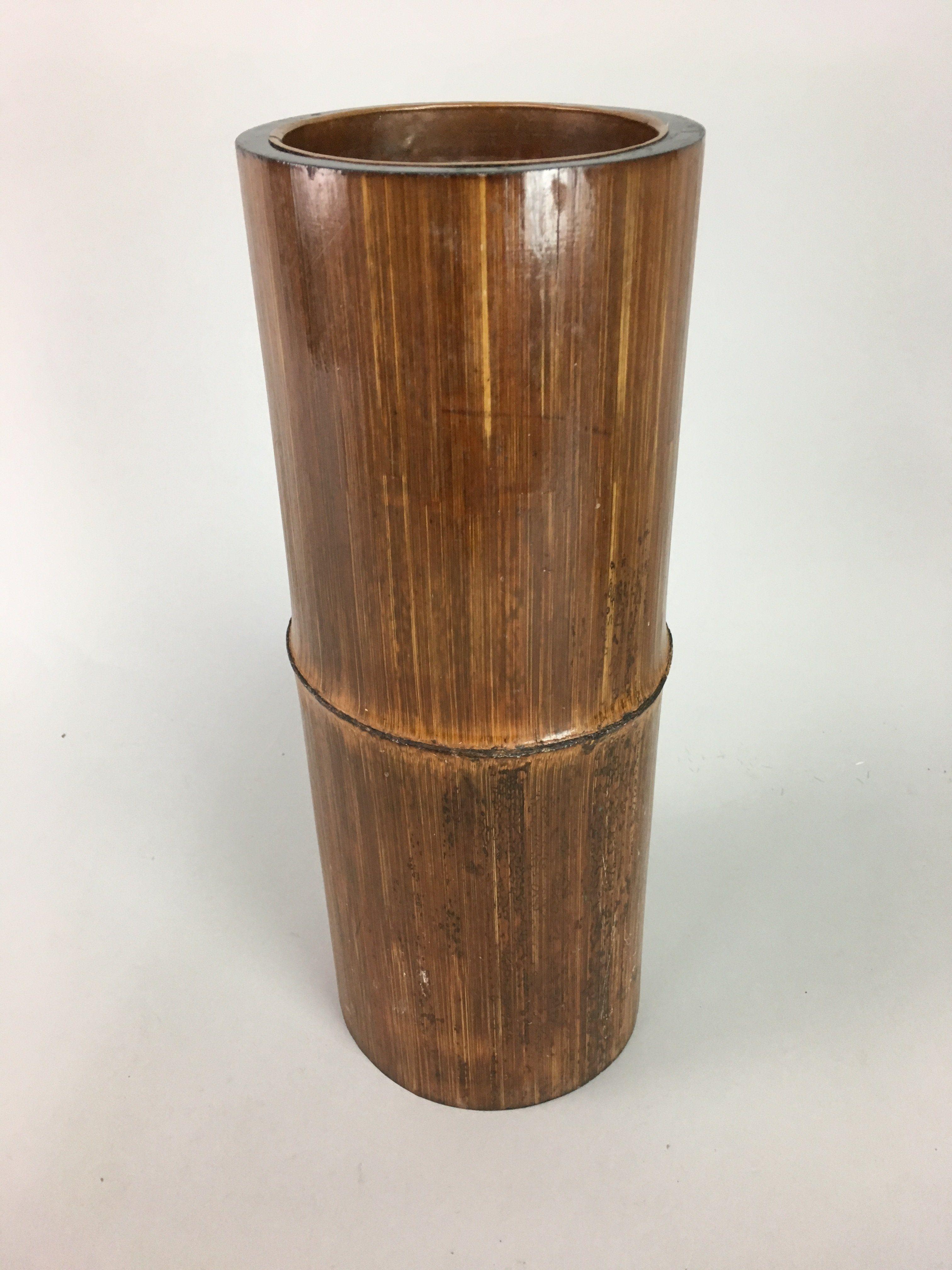 Japanese Bamboo Flower Vase Ikebana
