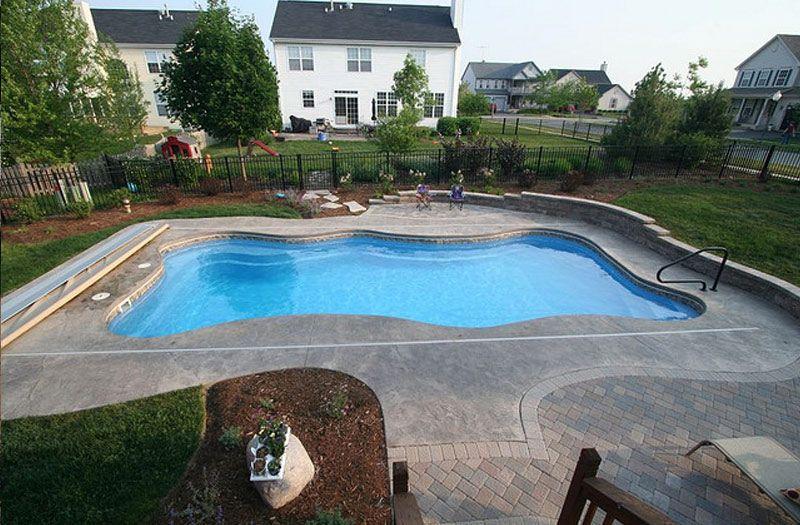 Lexington Pool By Blue Hawaiian Pool Fiberglass Pools Pool
