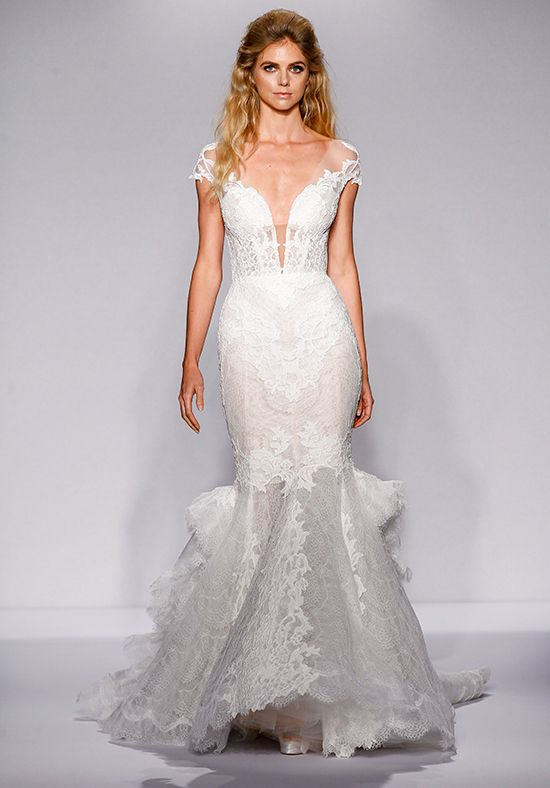 Pnina Tornai for Kleinfeld 4444 Mermaid Wedding Dress | Wedding ...