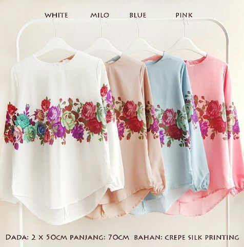 Produk Baju Atasan Aurora Blouse Keren Http Www Butikjingga Com Baju Atasan Aurora Blouse Baju Muslim Gaya Hijab Muslim