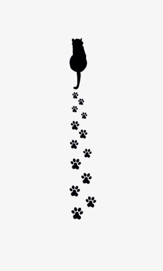 Clipart Cat Paw Print Cat Tattoo Paw Wallpaper Cat Paw Print