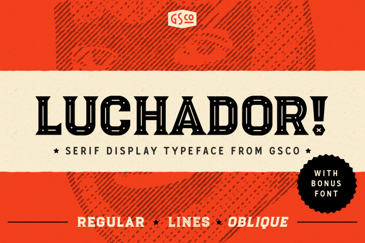 Download Pin by Creative Volt on Fonts   Download fonts, Luchador ...