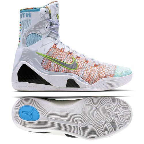 finest selection 03436 8f088 Nike Men s Kobe IX Elite Premium, MULTI-COLOR REFLECT SILVER-CHLRN BLUE