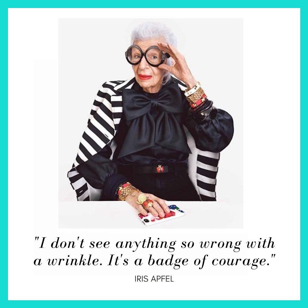 203 Likes 20 Comments Iris The Coloring Book Iristhecoloringbook On Instagram Remember You Re A Work Of Art Winter Jackets Iris Apfel Coloring Books