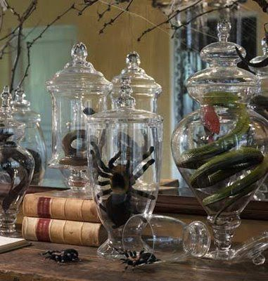 Papercraft Apothecary Jar Labels, Tags  Ideas - Page 5 Halloween - creepy halloween decor