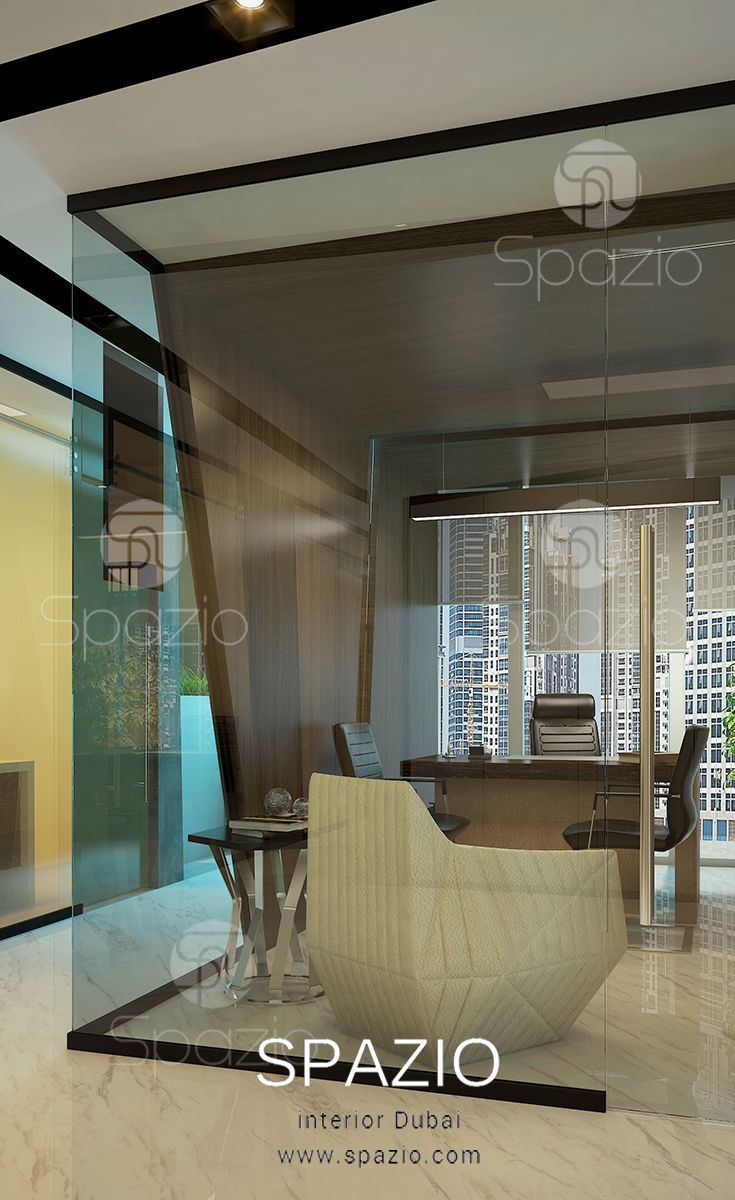professional office interior design and decor for executive manager
