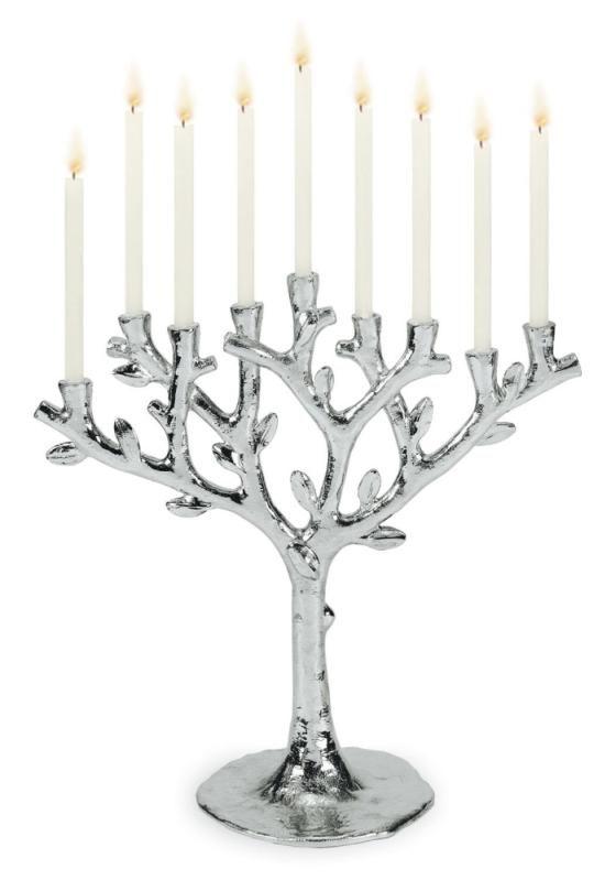 Happy Hanukah Con Imagenes Candelabros