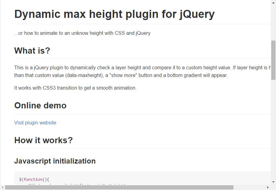 JoanClaret/jquery-dynamic-max-height   Dev - jQuery