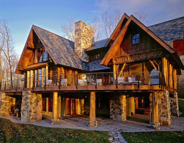 Katherine Hillbrand, SALA Architects: A Large Family Cabin   Cabin Living