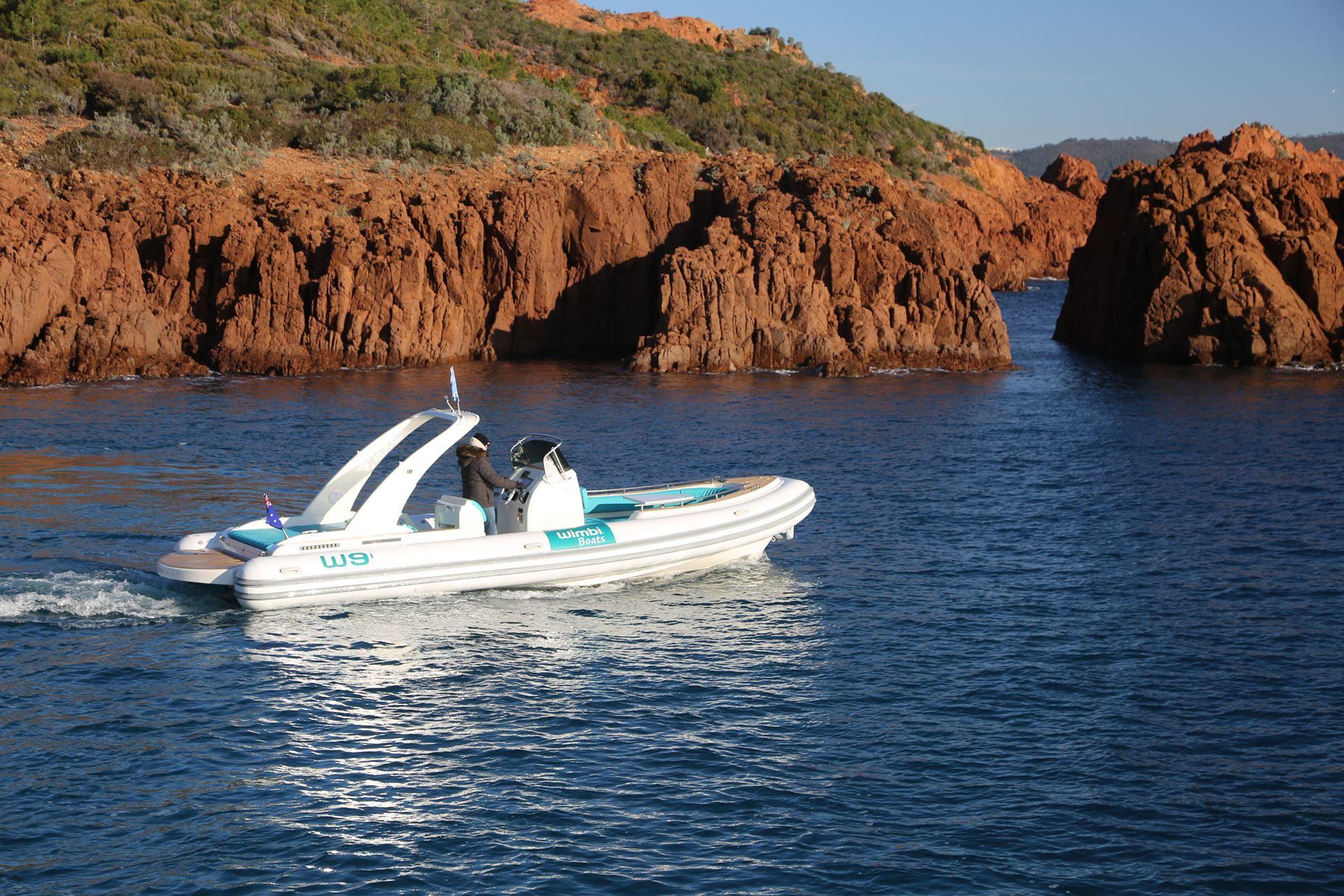 Zodiac Pneumatique Bateau Yacht Semirigide Ocean W9i