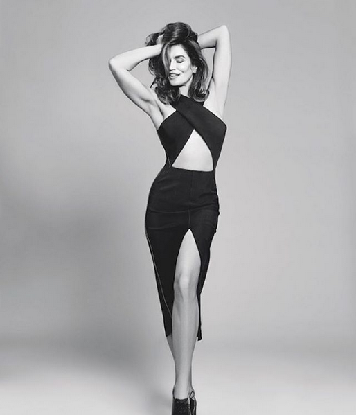 Black Fashion Models Poses: Cindy Crawford's Daughter Lands Major Ad Campaign
