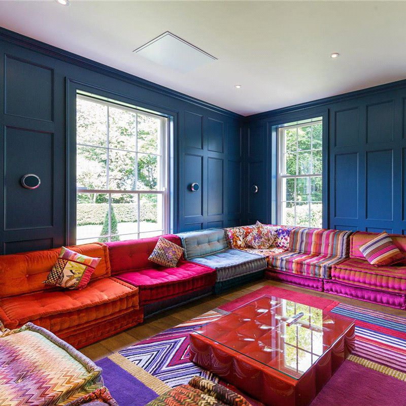 Mah Jong Sofa Designed By Hans Hopfer Roche Bobois Photo By Sherry Fitzgerald Estate Agents Project By Roche Bobois Home Bohemian Living Rooms Home Deco