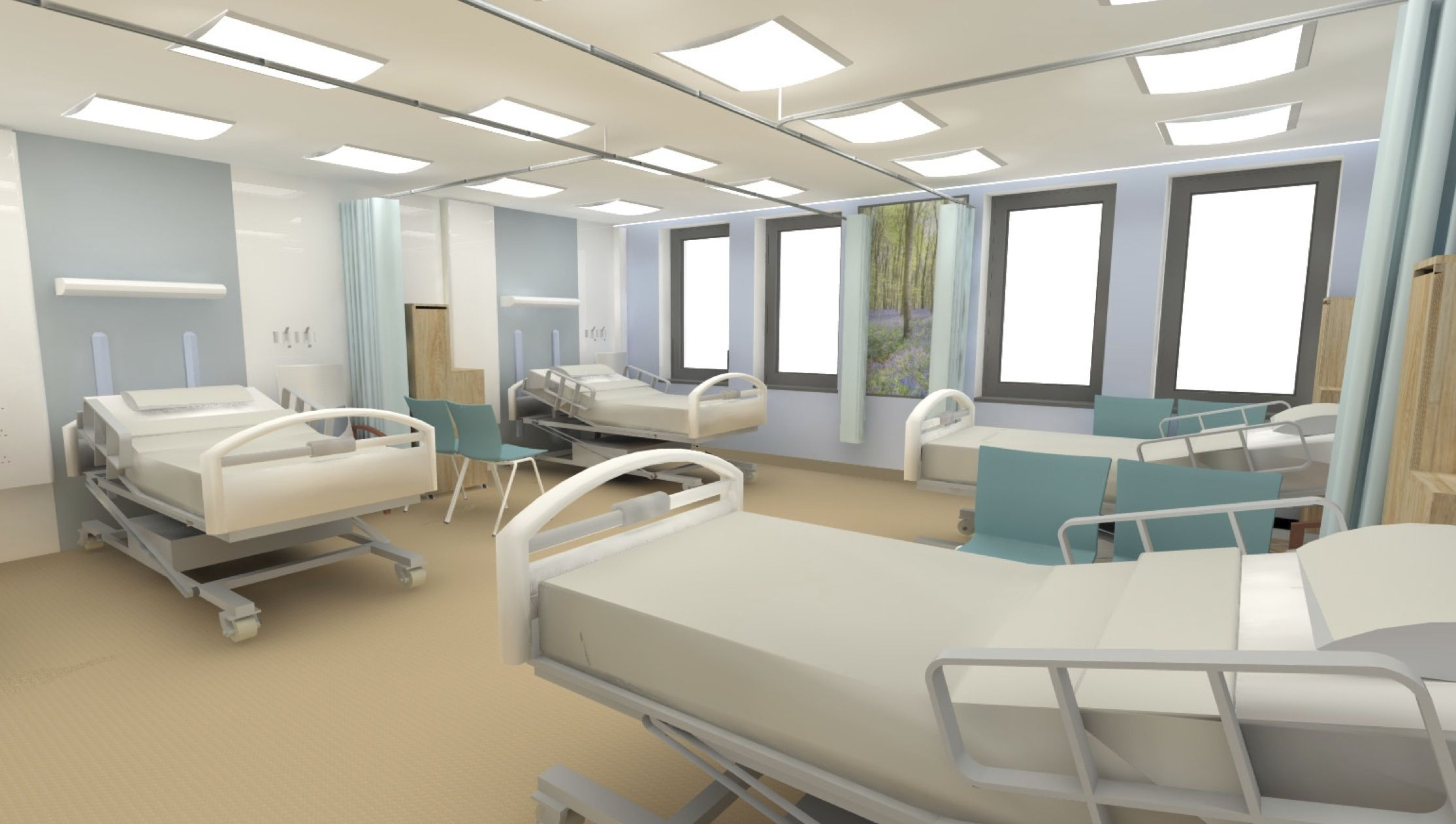 Modern hospital interior - Modern Hospital Wards Google Search