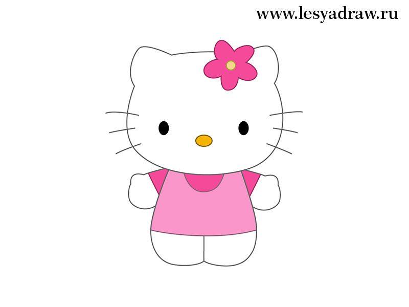 Auf folgende Seite erkennen Sie, wie kann man Hello Kitty selber ...