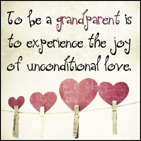 Love being a Grandparent!