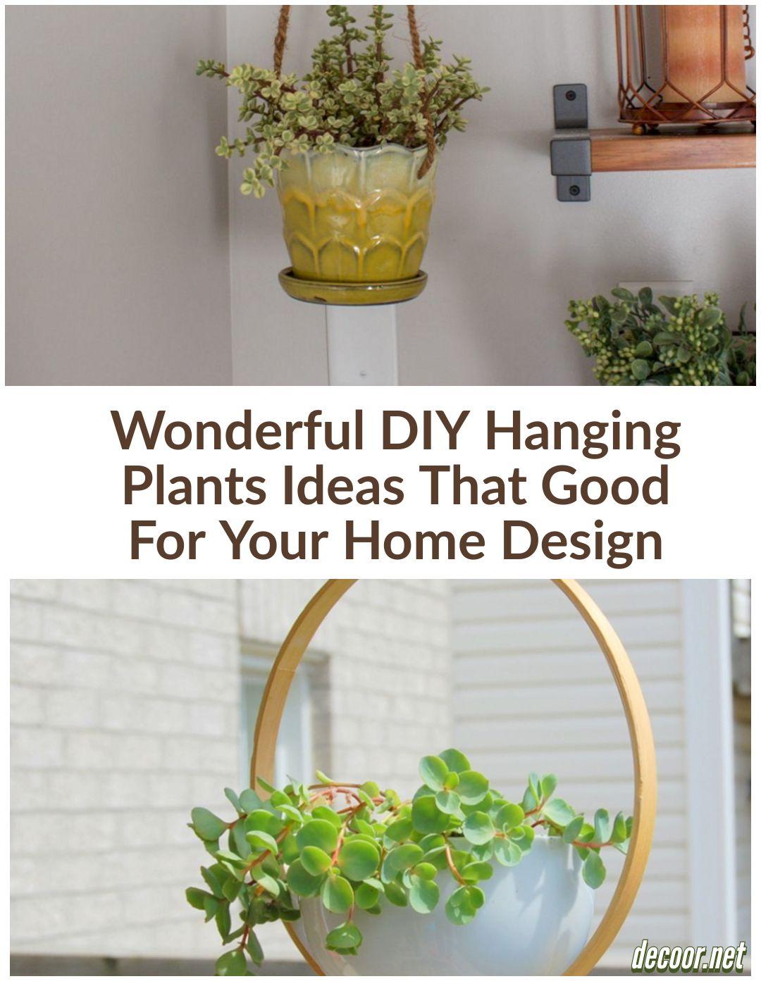 15 Wonderful Diy Hanging Plants Ideas