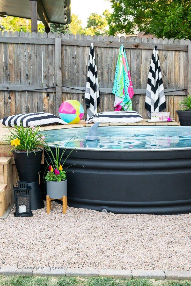 diy stock tank pool filter