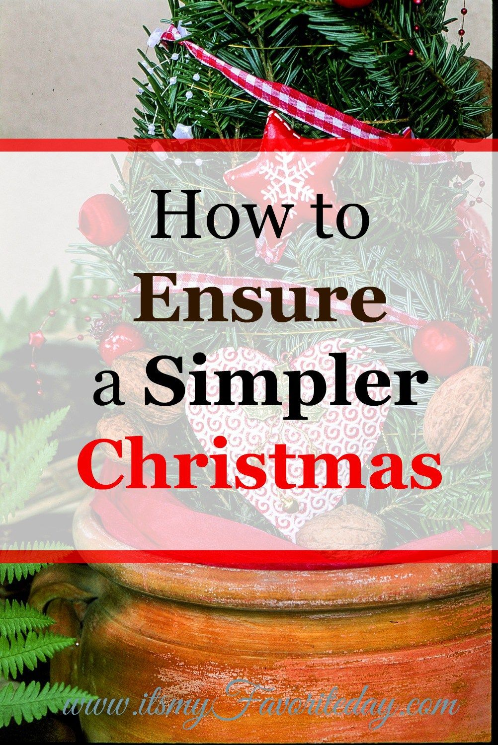 Love these tips, great ideas for making a simpler Christmas.  If you are looking for practical ideas for a simplified Christmas, this is a must read!
